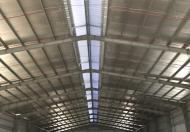 Cho thuê 2500m2 kho xưởng gần khu công nghiệp Tân Đô ở xã Đức Hòa Hạ, Đức Hòa, Long An.