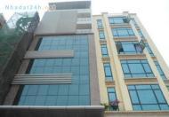 Bán nhà mặt phố Nguyễn Văn Huyên, 8 tầng, Kinh doanh, vỉa hè 10m, 42 tỷ.