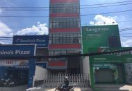 Cho thuê tòa nhà mặt tiền Lê Văn Việt Q.9, DT: 7x23m, 1 trệt, 1 lửng, 3 lầu. Giá: 150tr/th