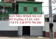 Kẹt Tiền Bán Gấp Nhà MTKD 384 Mã Lò, Bình Tân, DT 11x32m, 2 lầu, giá 17.8 tỷ, LH 0773 796 206.