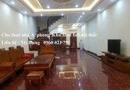 Cho thuê nhà 6 phòng ngủ full nội thất khu Hud tại TP  Bắc Ninh