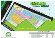Bán lô đất rẻ đẹp DA: Samsung village chỉ 2,8 tỷ sở hữu đến 59,6 m2