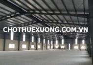 Cho thuê kho xưởng tại Đông Anh Hà Nội DT 315m2 gần cầu Nhật Tân giá tốt
