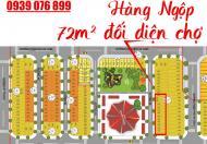 [gấp] khách cần tiền bán gấp lô đất đối diện chợ, 72m2, SHR, 0393 859 668