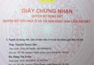 Chính chủ bán đất Quận Tây Hồ, ngõ 353 An Dương Vương