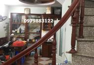 4 tầng nhà diện tích 37m2 cần bán trên phố Vũ Tông Phan