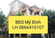 Cho thuê biệt thự đường Cao Xuân Huy, KĐT Mỹ Đình 2. DT 180m, giá 29 tr/th. LH 0866416107