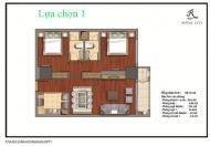Bán căn hộ R1 Royal City, 2 phòng ngủ sáng, 89 m2