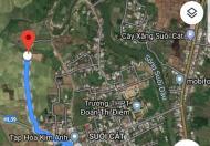 Bán đất 1.580m2 Tân Xương 2, Suối Cát, Cam Lâm.
