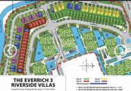 Bán Everrich 3 Quận 7 nền A3 góc 2 mặt tiền 212m2 - LH 0908.739.468