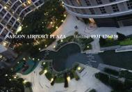 Bán căn hộ 2pn Saigon Airport Plaza 95m2-view sân vườn, đủ nội thất, giá 4,17 tỉ. LH 0931.176.338