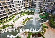 Bán căn hộ 1pn Saigon Airport Plaza 59m2-view sân bay, đủ nội thất, giá 3 tỉ. LH 0931.176.338