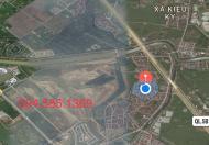 Bán lại lô 50m2 đất liền kề Văn Giang Ecopark sau dãy mặt đường 32m 0945851369