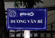 Bán nhà mặt phố Dương Văn Bé – Hai Bà Trưng 31m²,mt 3.5m, 0849 277 053