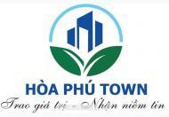 Bán đất Hòa Phú Town, Cơ hội Đầu Tư Có Lợi
