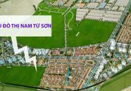 Đất nền Khu đô thị mới Nam Từ Sơn, giá 12tr/m. Sinh lời 100-200%/1 năm.