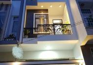 Cho thuê nhà MT đường nội bộ ngay chợ nhỏ, 4x25, 2 lầu 3 phòng ngủ,