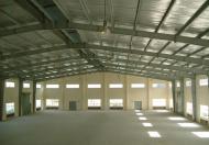 Cho thuê kho, xưởng mặt tiền QL13, Q.TĐ, DT: 20x50m, TDT: 1000m2. Giá: 120tr/th