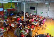 Cần sang nhượng hoặc cho thuê lại mặt bằng kinh doanh quán ăn ở khu đô thị mới thị trấn Hòa Mạc -