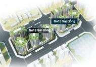 Dự án chung cư No 15-No 16 Sài Đồng, Long Biên.