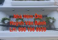 Nhà  Hẻm ÔTÔ 1 Trệt 4 Lầu 54m2 Huỳnh Văn Bánh, 9 Tỷ 150 Thương Lượng