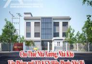 Cho Thuê Nhà Xưởng, Nhà Kho, Văn Phòng mới XD KCN Hiệp Phước Nhà Bè.