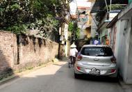 Ngõ thông ô tô vào, gần học viện hậu cần phường Ngọc Thụy. Lh 0903440669