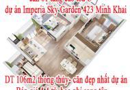 Chính chủ cần bán căn hộ góc 2 mặt thoáng 106m2 thông thủy, căn 01 tầng cao tòa C, dự án Imperia