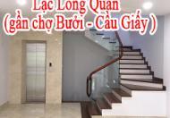 CHO THUÊ THÔNG SÀN TẦNG 1 VÀ TẦNG 2 Ngõ 127 Lạc Long Quân ( gần chợ Bưởi-  Nghĩa Đô / Cầu Giấy)