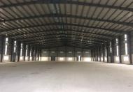 Cho thuê kho, xưởng Kinh Dương Vương, Q.BTA, DT: 850m2. Giá: 45tr/th