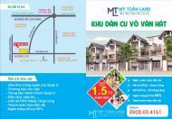 Chỉ  53 tr/ m2 sở hữu lô đất mặt tiền 218, Võ Văn Hát, Long Trường, Q9