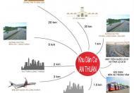 Tôi cần bán nhanh lô đường 32m, hướng ĐN, đường trục chính nối giữa TL 25B và QL 51, tại KDC An Thuận Lh 0868.29.29.39