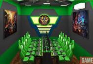 Cho thuê nhà làm quán game khu Bách Khoa: 100m2, 4 tầng, mặt tiền 10m.