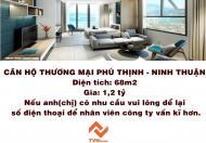 Bán căn hộ chung cư Phú Thịnh Plaza Ninh Thuận - sở hữu ngay căn hộ thương mại cao cấp 100% view biển