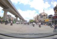Cho thuê nhà 100m2x4 tầng, mặt tiền 20m mặt phố Nguyễn Khuyến