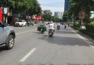 Bán nhà mặt phố Trần Khát Chân, mặt tiền 7m, lô góc,  ngân hàng thuê 60 triệu/ tháng