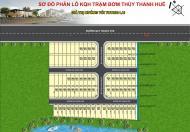 Bán đất tại khu hạ tầng trạm bơm Thủy Thanh, Hương Thủy; đường 31m, giá 9,9 trđ/m2, ĐT 0987092712