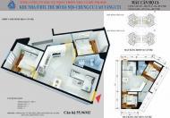 Gia đình cần tiền bán gấp căn hộ 55,96m2 2PN 1WC tầng đẹp dự án CT1 Yên Nghĩa - LH: 0944.796.216