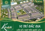 Đất 2 mặt tiền quốc Lộ 1A, KĐT Ven biển Bình Định.