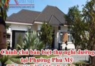 Chính chủ bán biệt thự nghỉ dưỡng tại Phường Phú Mỹ, TP. Thủ Dầu Một, Bình Dương..