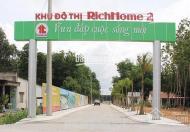 Đất ở khu đô thị RichHome 2 từ Quốc Lộ 14 rẽ vào khoảng 300m, thuộc xã Hòa Lợi, huyện Bến Cát
