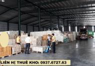 Cho thuê kho xưởng diện tích 200 m2, 300 m2, 500 m2 tại Dĩ An, Bình Dương giá rẻ