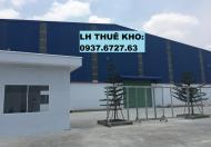 Cho thuê kho chứa hàng, xưởng sản xuất tại DĨ AN, BÌNH DƯƠNG -  0937.6727.63