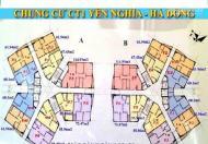 Suất ngoại giao chính chủ căn hộ 67,43m2, tầng trung, bc ĐN dự án CT1 Yên Nghĩa.LH 0944796216