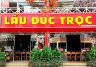 Cho thuê nhà làm nhà hàng mặt phố Trần Đại Nghĩa: 150m2, MT 7.3m.