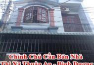 Chính Chủ Cần Bán Nhà Thị Xã Thuận An - Bình Dương