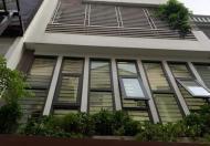 Cho thuê nhà Hoàng Quốc Viêt 4 tầng 55m 16 tr, ô tô đỗ cửa