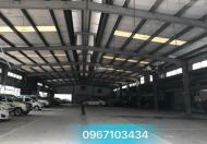Cho thuê 530m2,450m2 kho,nhà xưởng quận Hà Đông giá rẻ