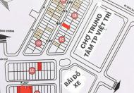 Bán nhà phố kinh doanh tại trung tâm TP Việt Trì –Sổ đỏ chính chủ lâu dài