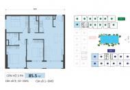 Bán gấp căn 3 phòng ngủ Golden Mansion, Novaland Phổ Quang, Phú Nhuận tháp GM1 view hồ bơi, 4 tỷ